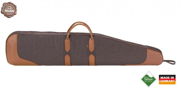 AKAH Loden-Futteral mit Elchleder 124cm