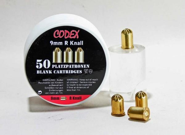 CODEX PLATZPATRONEN 9mm Revolver