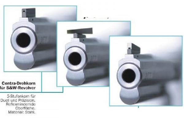 Centra 2-Stufen Drehkorn für S&W M686, Breite: 4,0mm