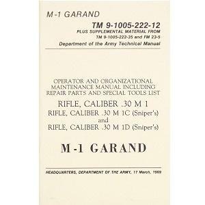 US Handbuch Garand M1 Rifle