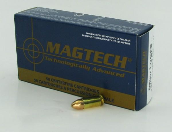 Mag Tech 9mm Luger FMJ 124 grs 50 Schuss