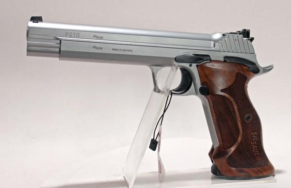 Sig Sauer P210 Super Target Silver