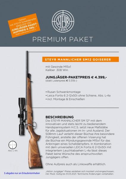 Steyr MANNLICHER SM12 KL O.V..308 WIN Premium Set