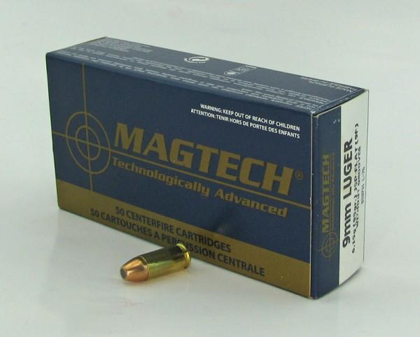 Mag Tech 9mm Luger JSP/FL 95GR 50 Schuss