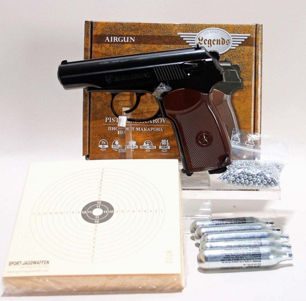 Makarov Luftpistole Sparset