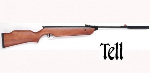 TELL Luftgewehr 300 Schalldämpfer Kal. 5,5mm