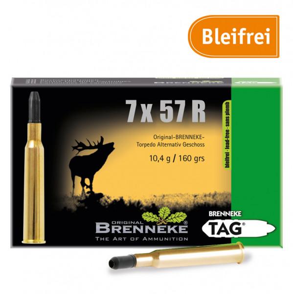 BRENNEKE 7x57 R TAG Jagdmunition