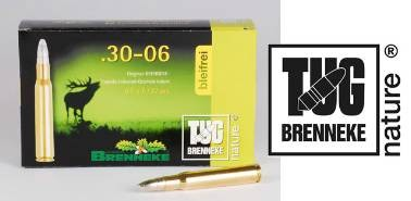 BRENNEKE.30-06 TUG nature 9,5G Munition