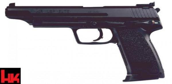 HK USP Elite Pistole .45 ACP brüniert