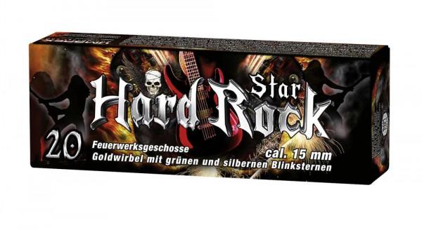 Hard Rock Star Pyropatronen 20 Stück