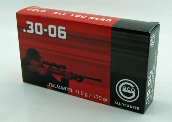 Geco .30-06 Teilmantel 20 Schuss
