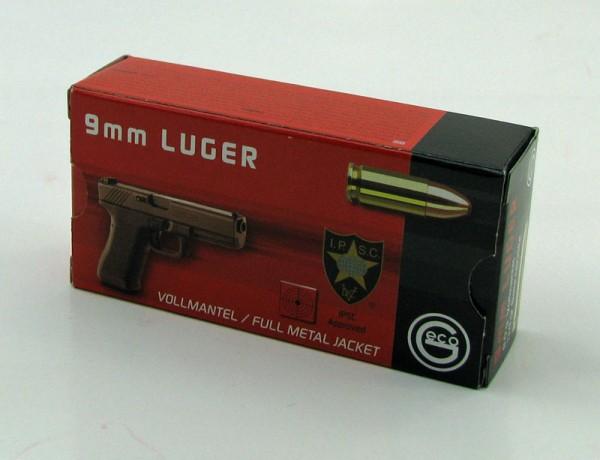 PATR 9 mm LUGER GECO VM 8,0 50 Schuss