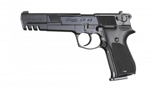Walther CP 88 Luftpistole Competition brüniert