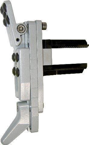 Schaftkappe, komplett, mit kurzem Zahnstangensatz (Alu)