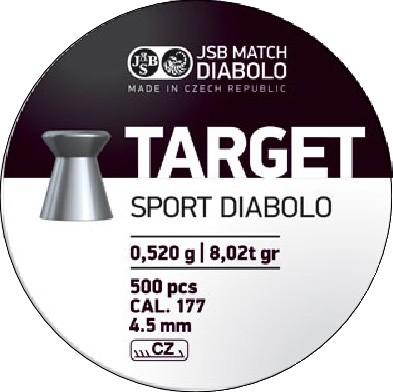 JSB DIABOLO TARGET 4,50MM A500