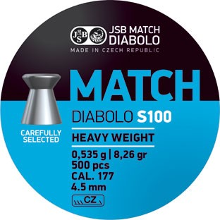 JSB DIAB. MATCH S 4,51MM A500