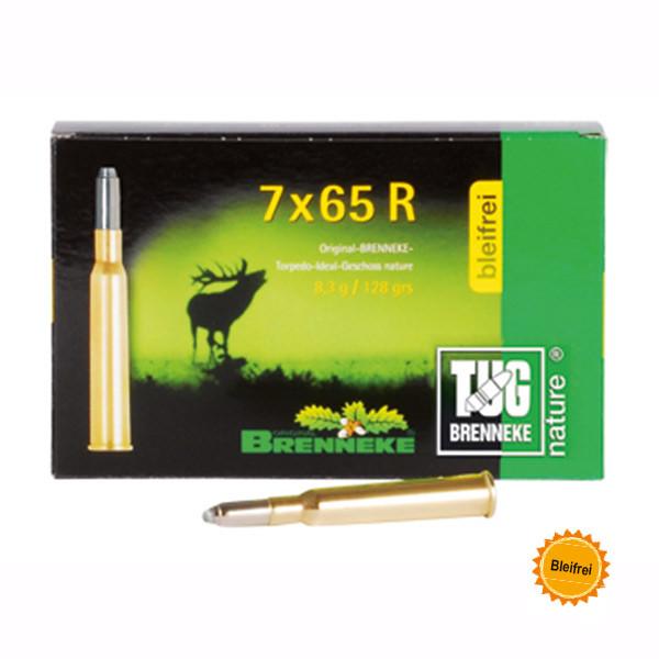 BRENNEKE 7x65R TUG nature+ Munition