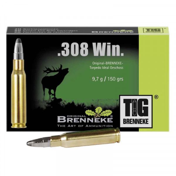 BRENNEKE .308 Win TIG Munition
