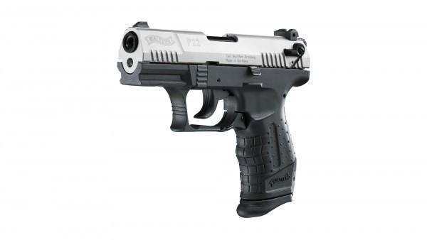 Walther P22 Schreckschuss Pistole nickel 9 mm