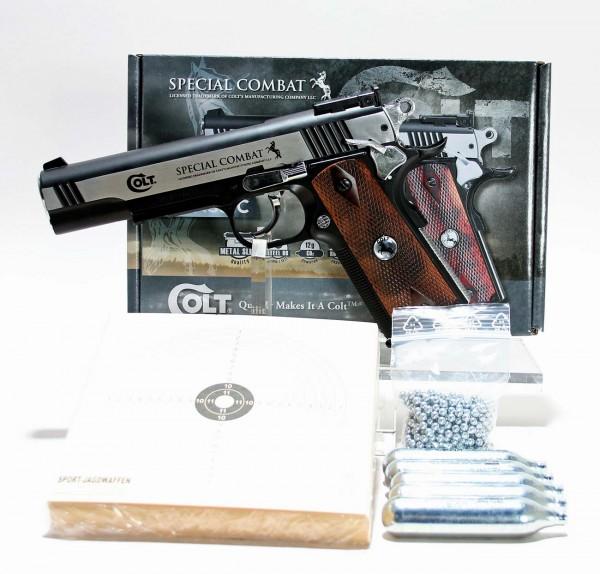 Colt Special Combat Classic Luftpistole Sparset