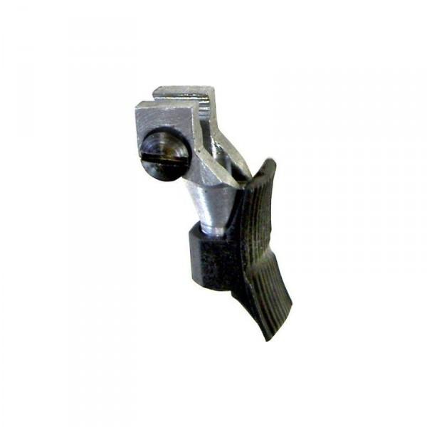 Abzugszüngel 9mm breit gekröpft allseits verstellbar