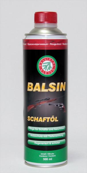 BALSIN Schaftöl 500 ml rotbraun