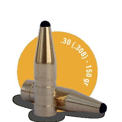 Fox Bullets Kal. .308 bleifrei 9,72g - 150grs