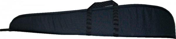 Gewehrfutteral schwarz mit Aussentasche