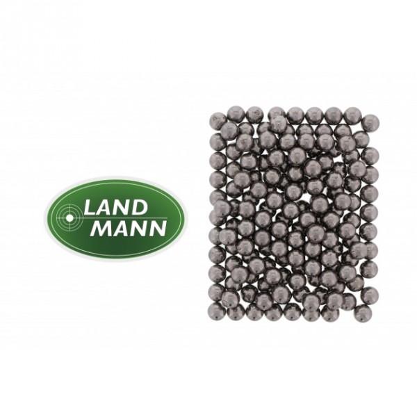 Landmann Stahlrundkugeln 9mm für Schleuder 250 Stck