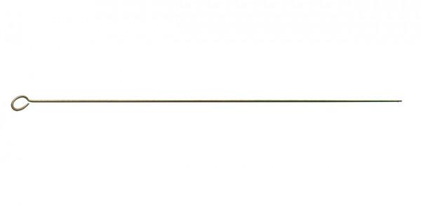 Putzstock aus Stahl mit Öse für Luftgewehre