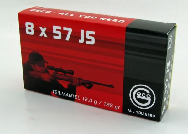 Geco 8x57 IS Teilmantel 20 Schuss