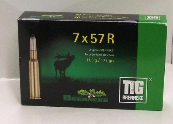 BRENNEKE. 7x57R TIG 11,5g Munition