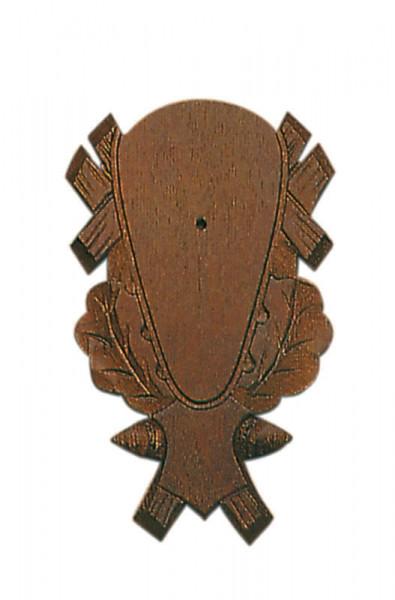 Geweihbrett für Rot- u. Damhirsch 41x26 cm