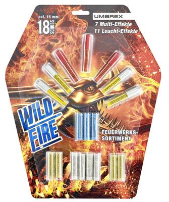 Wild Fire Pyropatronen 18 Stück