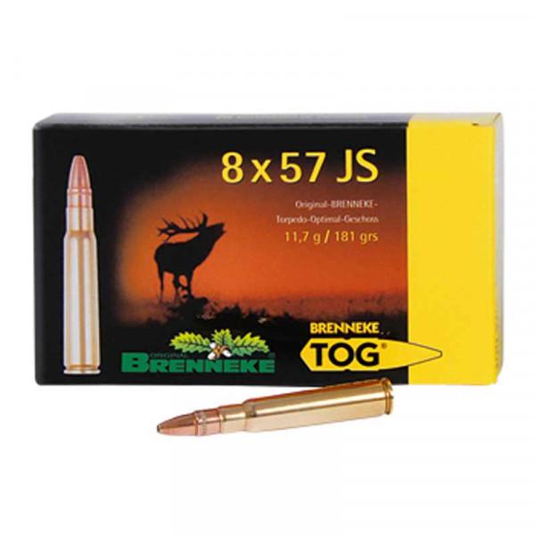 BRENNEKE 8x57 JS TOG Munition