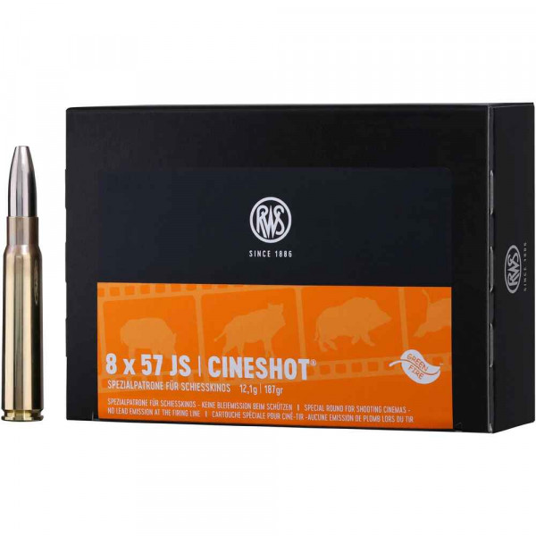 RWS Cineshot 8x57 IS Patrone 50 Stück
