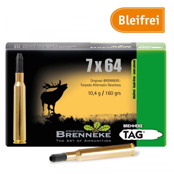 BRENNEKE 7x64 TAG Jagdmunition