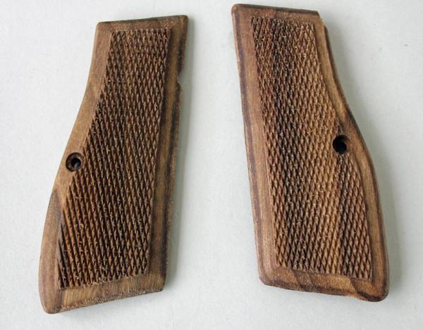 FN High Power Holz Griffschalen repro