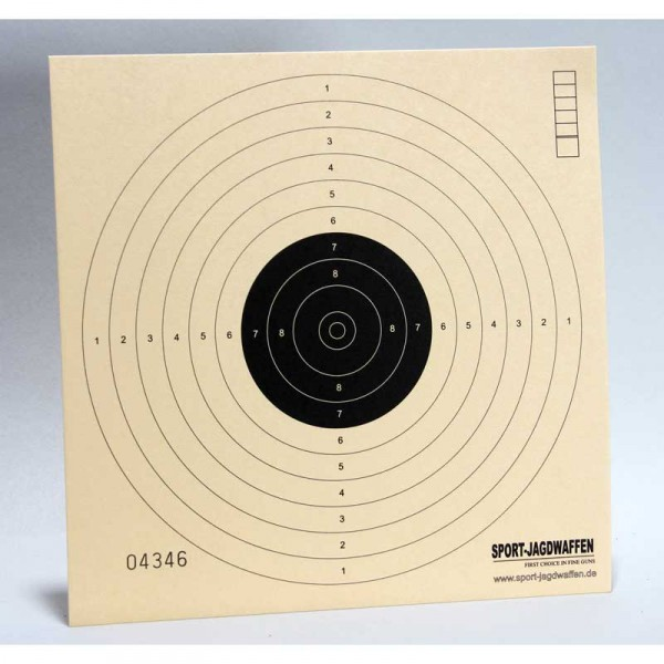 Zielscheiben 17 x 17 cm 250 stck