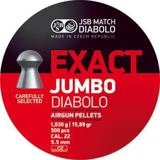 JSB D.JUMBO EXACT 5,50MM A500