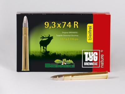 BRENNEKE.9,3x74R TUG nature 14,2g Munition