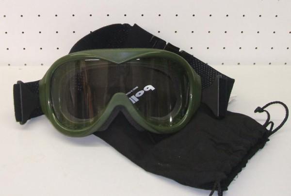 US Staubschutzbrille oliv neuwertig