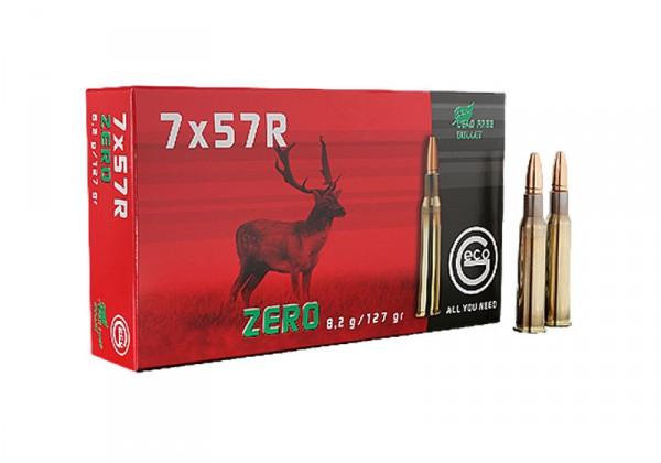 Patronen 7X57 R GECO ZERO 8,2 gr.