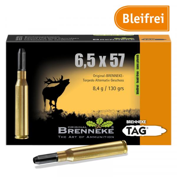 BRENNEKE 6,5x57 TAG Jagdmunition