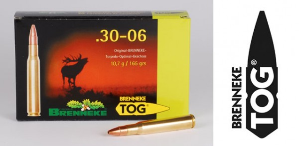 BRENNEKE .30-06 TOG 10,7g Munition
