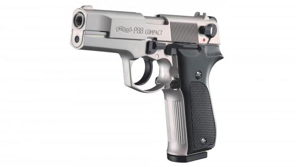 Walther Schreckschuss Pistole P88 nickel Kunststoffgriff