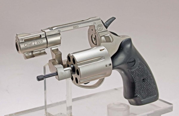 Revolver RECORD CHIEF Sicherheitsset mit Pfefferspray