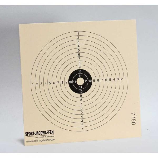 Zielscheiben 14 x 14 cm 250 stck