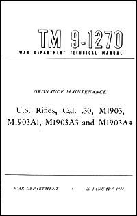 US Buch Rifle 1903 Springfield