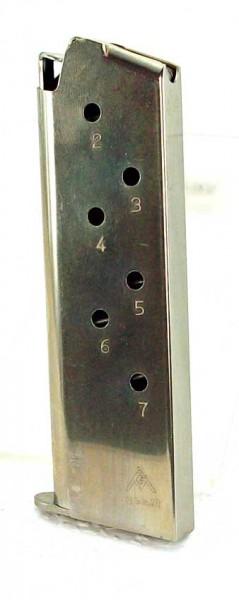 Colt Government 7 Schuss nickel